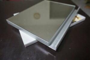 3G 4G glass kitchen cabinet