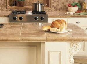 ceramic tiles kitchen cabinet