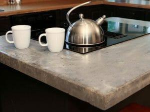concrete kitchen cabinet