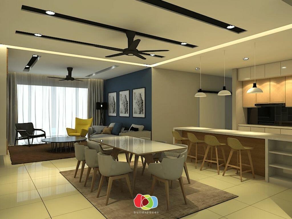 10 HOME INTERIOR DESIGN IN MALAYSIA minimalist