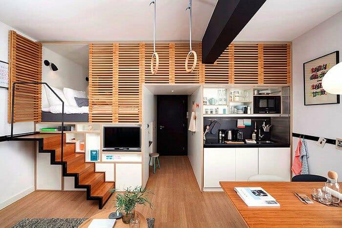 10 STUDIO HOUSE APARTMENT INTERIOR DESIGN