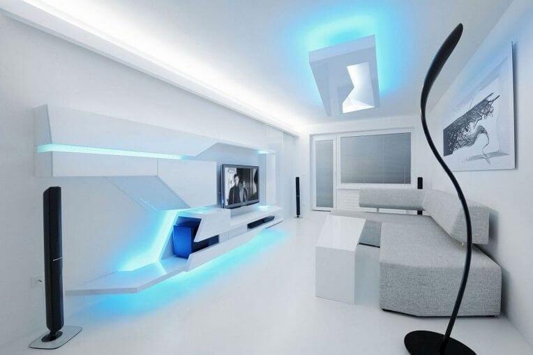 5 FUTURISTIC INTERIOR DESIGN IN THE WORLD
